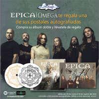Epica te regala una de sus postales autografiadas