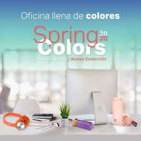 Oficina llena de colores