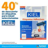 40% de descuento KIEL