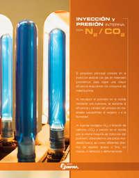Inyección y presión interna con N2 CO2