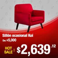 Oferta en sillón ocasional Koi