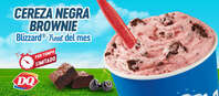 Cereza negra brownie