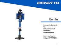 Catálogo de Productos Benotto