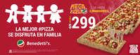 La pizza se disfruta en familia