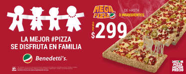 La pizza se disfruta en familia- Page 1