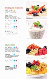 Menú Desayunos