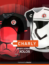 Jersey alternativo xolos Star Wars