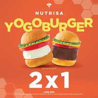 Yogoburger al 2 x 1