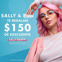 Promo Sally Beauty Supply y Rappi