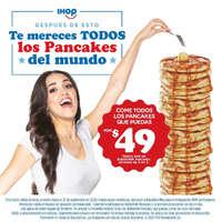 Todos los pancakes qu epuedas comer