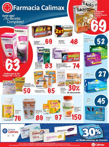 Farmacia Calimax- Page 1