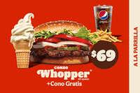 Combo whopper