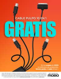 Cable Pulpo 10 en 1 GRATIS