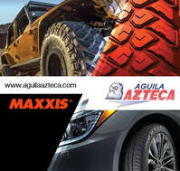 Maxxis en Aguila Azteca