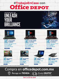 #TrabajoEnCasa con Office Depot - Intel