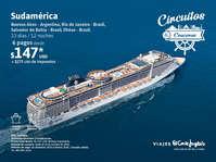 Crucero por Sudamérica