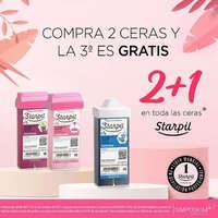 2x1 en Ceras Starpil
