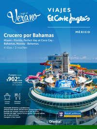Llegó el Verano - Crucero por Bahamas