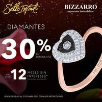 Lleva contigo el brillo de los diamantes al 30% de descuento