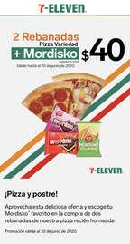 Pizza + Helado