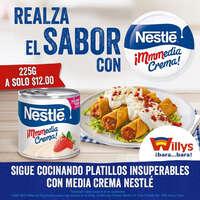Media crema de Nestlé