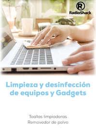 Limpieza y desinfección de gadgets