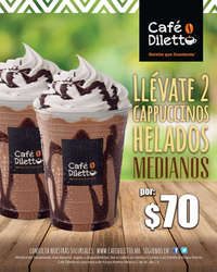 Cappuccinos 2 x $70