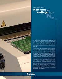 Soldadura en hornos de reflujo (SMT) N2