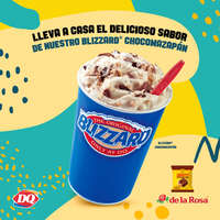 Blizzard Chocomazapán