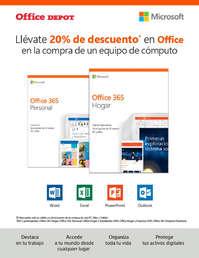 20% de descuento en Office
