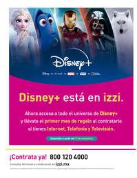 Disney+ está en izzi