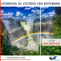 Cataratas de Victoria con Botswana