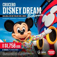 Crucero disney dream