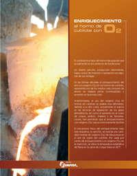 Enriquecimiento al horno de cubilote con o2