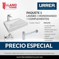 Promo lavabos Paquete 1