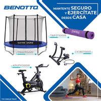 Ejercítate en casa con Benotto