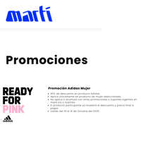 Promoción Adidas