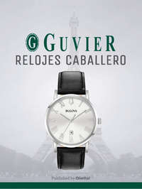 Guvier relojes caballero