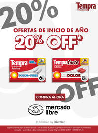 20% OFF en Mercado Libre
