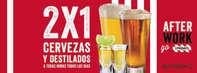 2 x 1 en cervezas