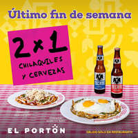 Chilaquiles 2 x 1