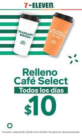Relleno café select