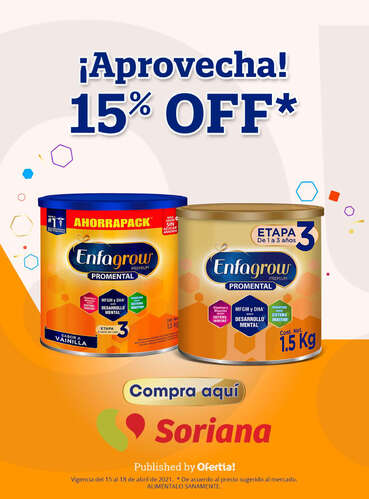 ¡Aprovecha! 15% Off- Page 1