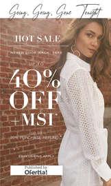 Hot sale - 40% off