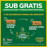 Día mundial del sándwich