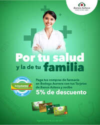 Por tu salud y la de tu familia