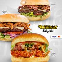 Buffalucas burgers