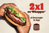 2 x 1 en Whopper