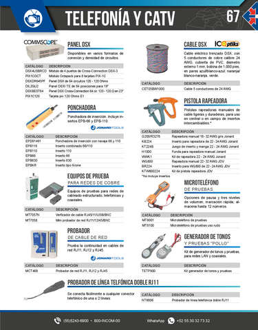 TELEFONÍA Y CATV- Page 1