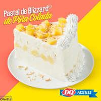Pastel de Blizzard de Piña colada